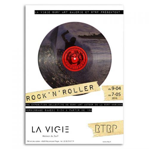 affiche rockNroller01
