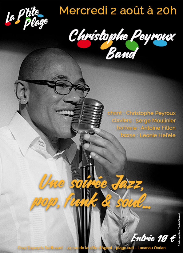 affiche Christophe Peyroux Band fb