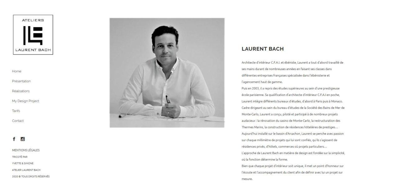 Site Laurent Bach